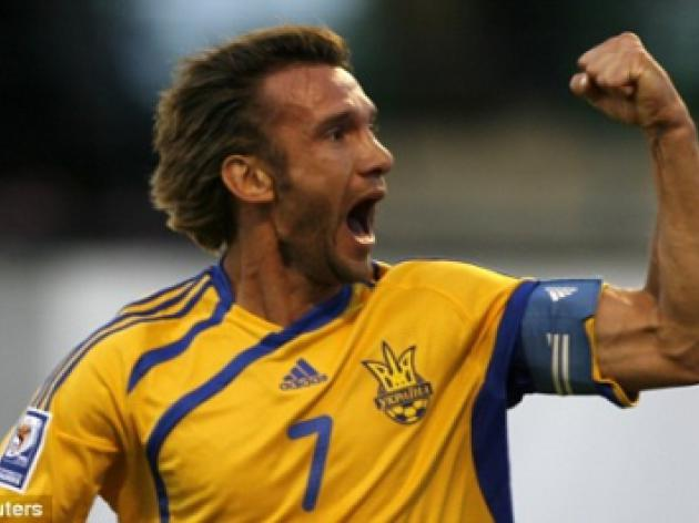 Kiev hope to tempt Chelsea flop Andriy Shevchenko back to Ukraine