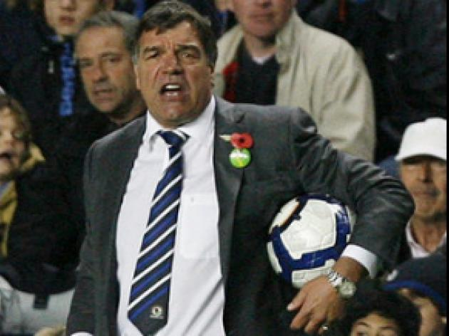 Differing emotions for Allardyce