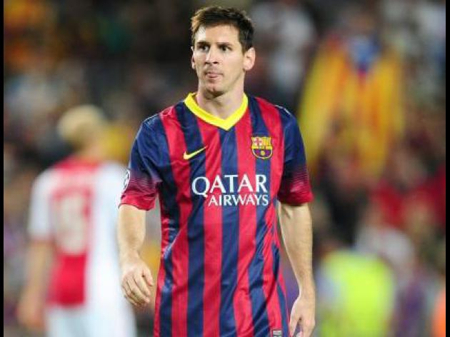 Messi: I'll finish career at Barca