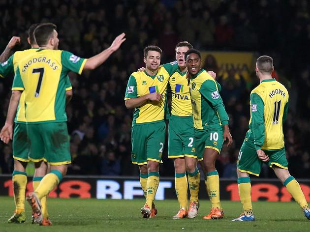 Vital win for Norwich