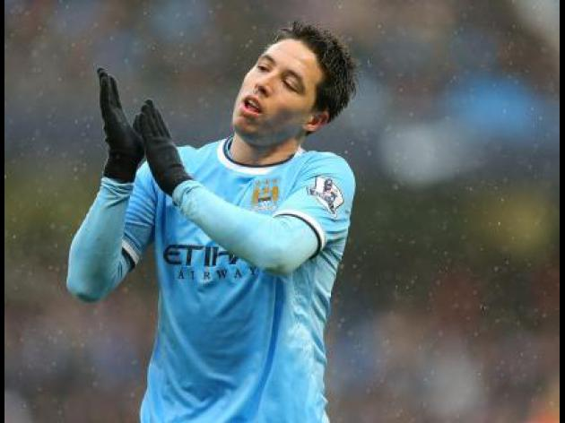 Nasri expects hot reception
