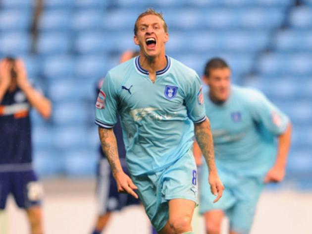 We deserved the 3 points says Coventry City captain Carl Baker