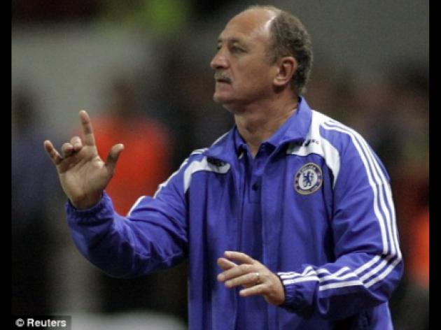 Chelsea deal blocked axed boss Luiz Felipe Scolari from taking English job
