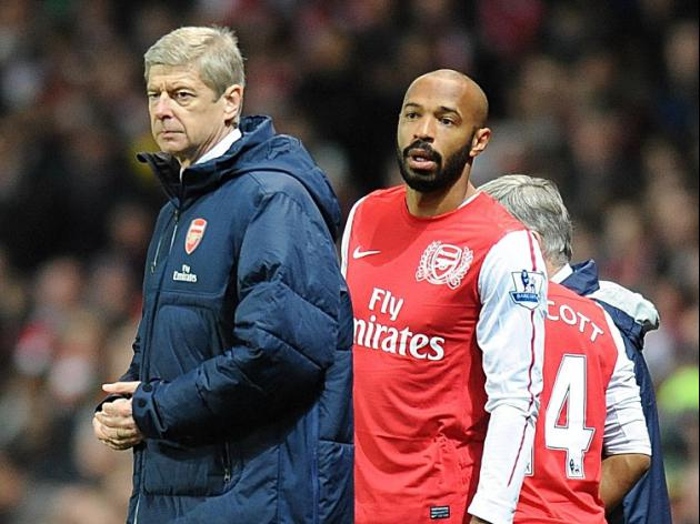 Henry heaps praise on Wenger