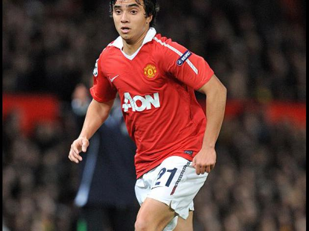 Rafael sidelined for Manchester United