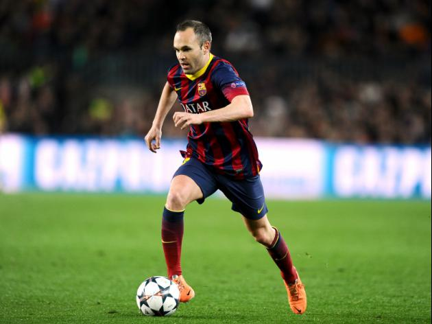 Barca seek Cup solace after troubled season - Iniesta