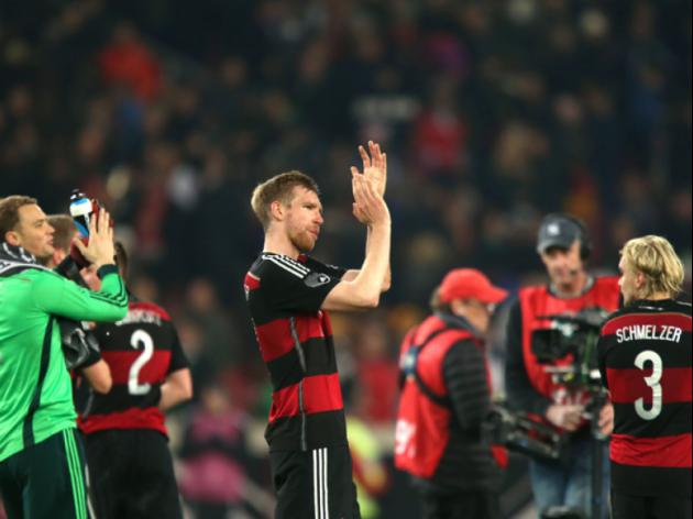 Experimental Germany kick-off World Cup preparations