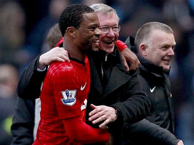 Manchester United defender Patrice Evra dismisses PSG move