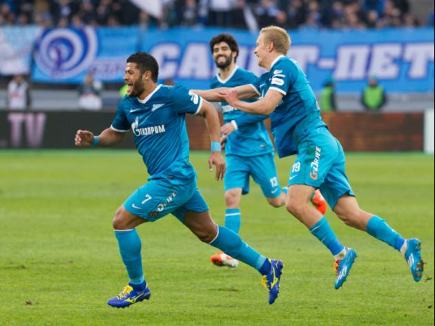 Zenit to extend lead in Russia