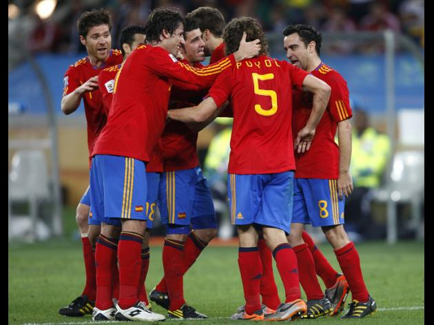 Germany 0-1 Spain - Match Report