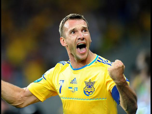 Shevchenko a doubt to face England