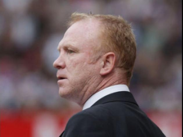 McLeish looking for home success