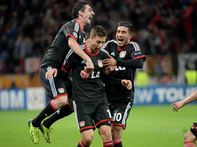 Leverkusen out to down high-flying Bayern