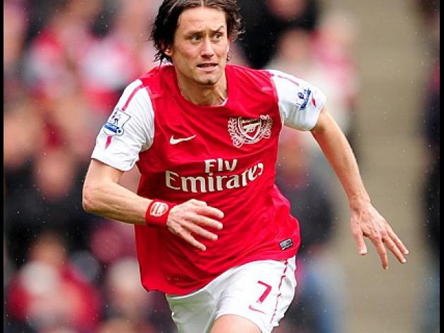 Rosicky looking to lift Gunners' game