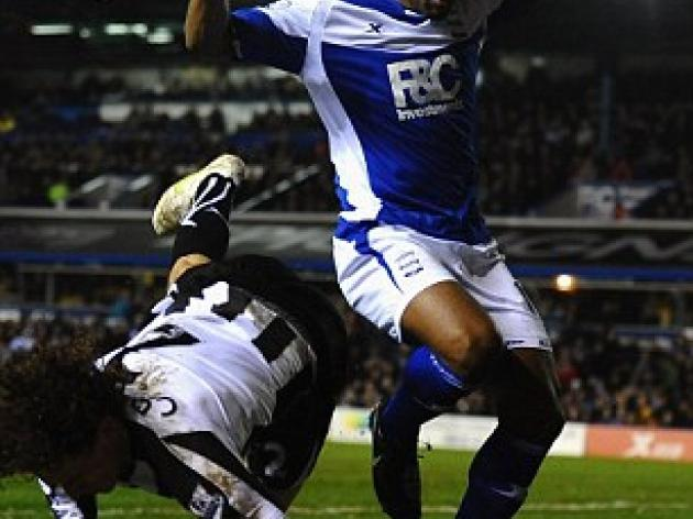 Cameron Jerome calls on Birmingham to dump Wednesday out of the Cup