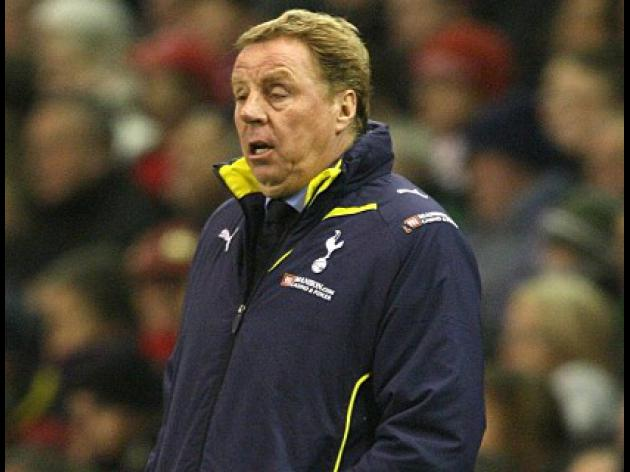 Harry Redknapp dismisses long ball accusations