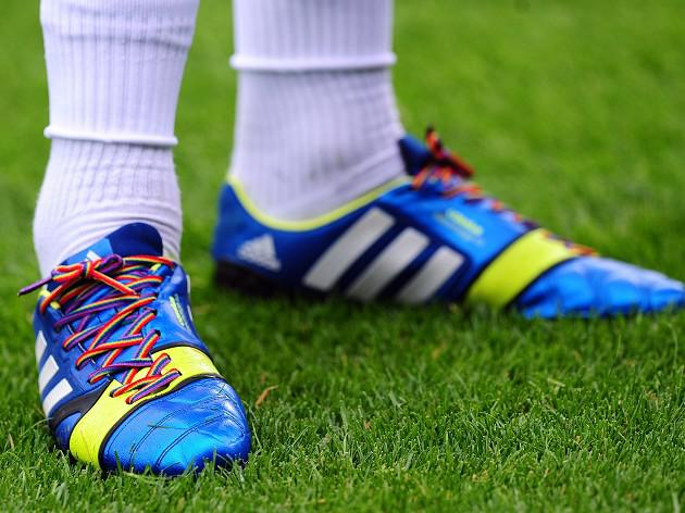 Laces may give homophobia the boot