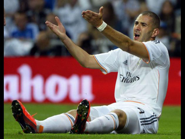 Benzema brushes off goal drought