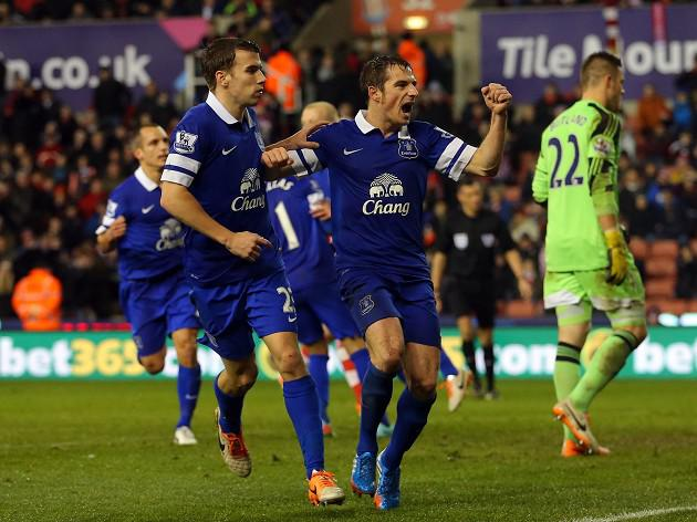 Stoke denied by late Everton leveller