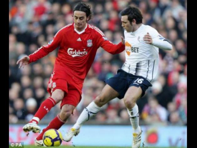 Arsenal v LIVERPOOL: Alberto Aquilani sidelined through illness