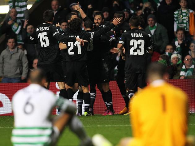 Celtic suffer disappointing Juve defeat