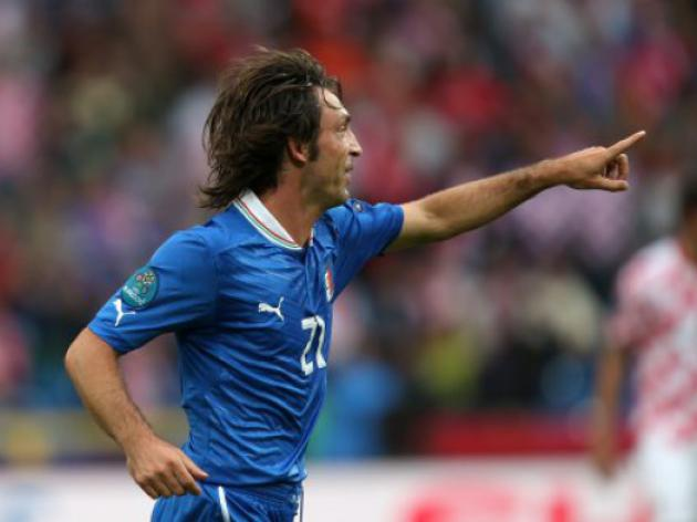 Pirlo: Prandellis professor on the pitch
