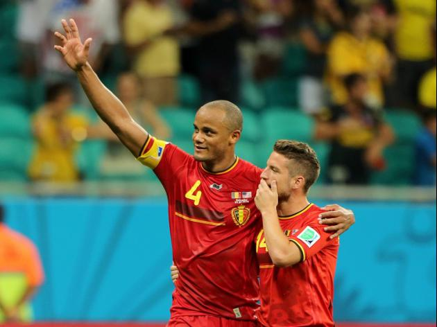 Kompany fancies Belgium's chances