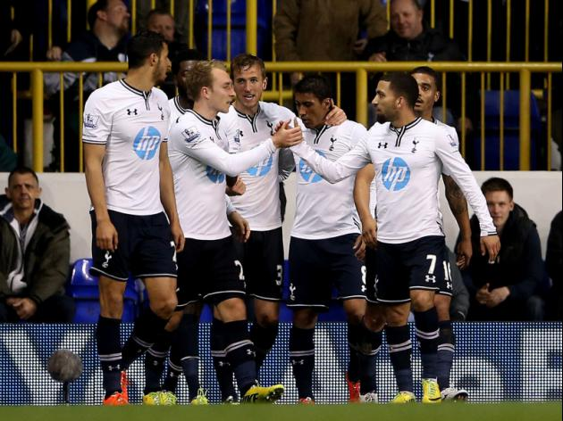 Tottenham 5-1 Sunderland - Spurs fight back to relief Sherwood