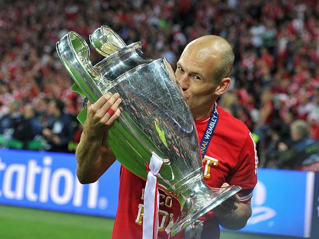 Robben so glad to be a winner