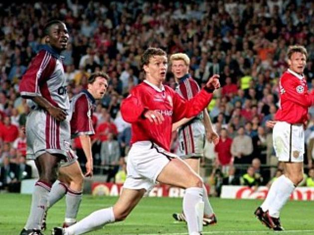 Bayern Munich v Man Utd - One night in 1999