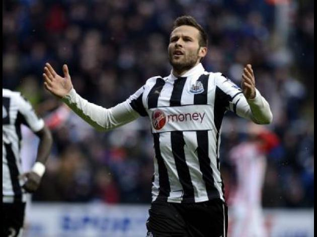 Arsenal's 'Derisory' Cabaye bid rejected by Newcastle