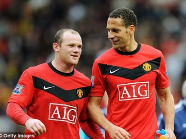 Sir Alex Ferguson tells Wayne Rooney, Rio Ferdinand and Michael Carrick to take August off