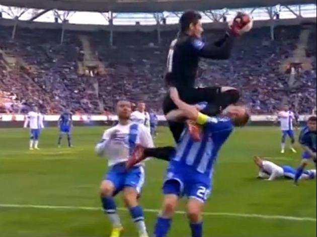 Dnipropetrovsk player saves opponents life in Ukraine game