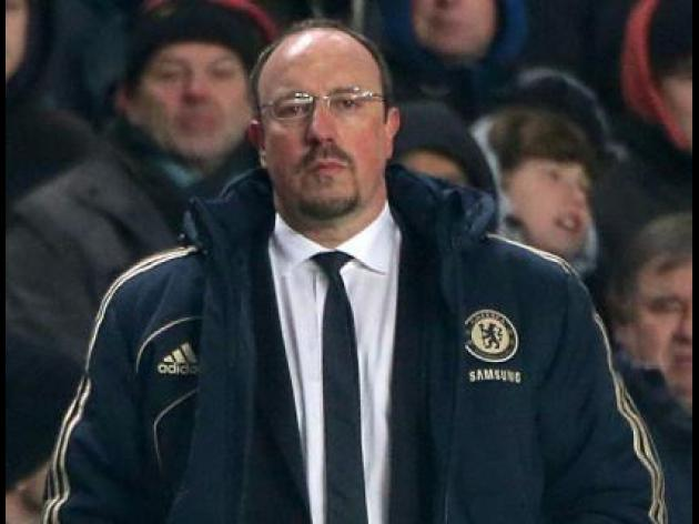 Chelsea boss Rafael Benitez rues missed chances