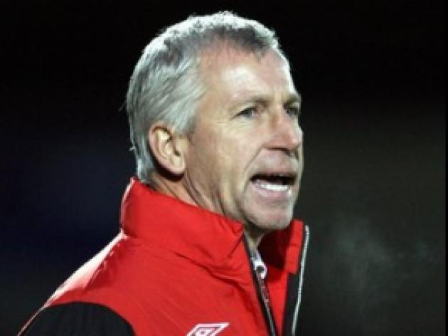 Lawrie: Too early to judge Pardew