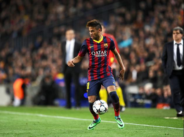 Neymar rides to Barca's rescue