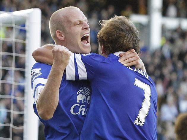 Naismith fires Toffees to victory