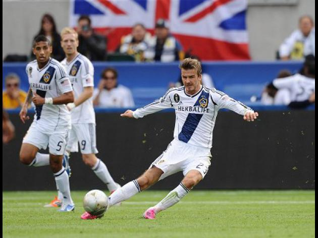 Beckham's Galaxy quest ends in glory