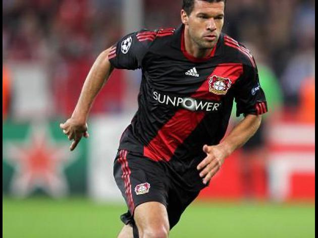 Leverkusen ready to discuss Ballack departure