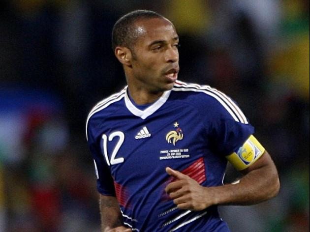 Henry unlikely to play for France