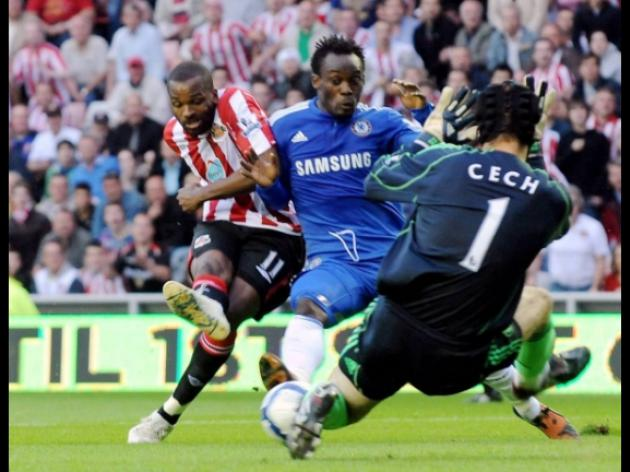 Chelsea too strong for Sunderland