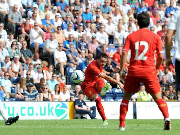 Aspas marks Reds debut with goal