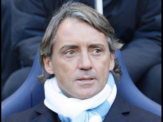 Mancini puts transfer talk on ice