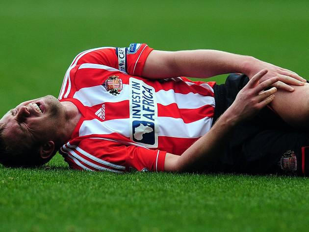 Sunderland captain Lee Cattermole facing lengthy absence