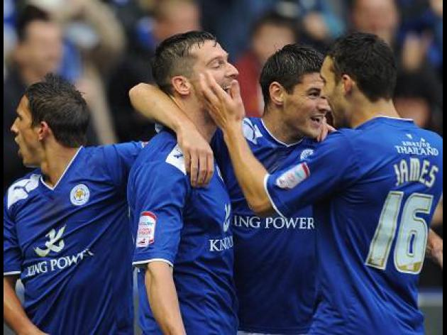 Leicester 2-0 Wigan: Match Report