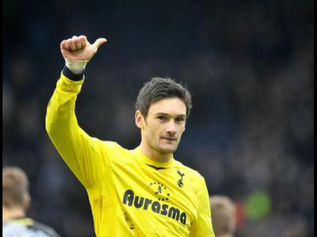 Villas-Boas satisfied with Lloris call