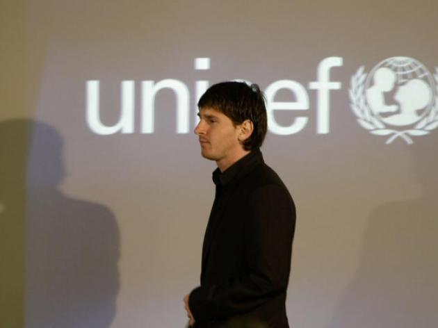 Barcelona extends UNICEF partnership until 2016