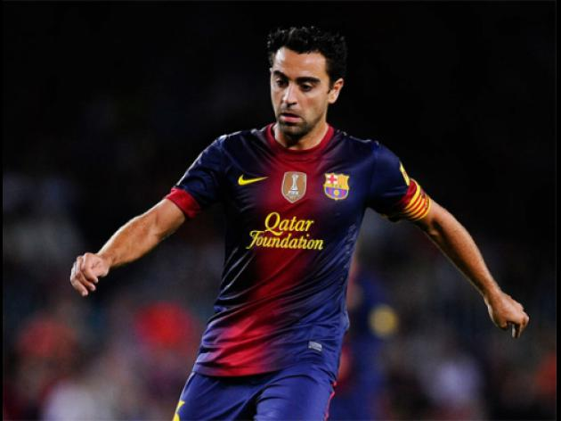 Top 10 Goals Of September 2012: 5 - Xavi
