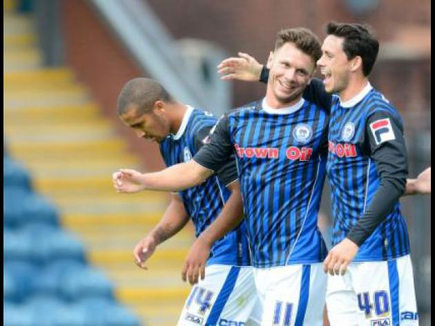 Rochdale 3-0 Newport County: Match Report