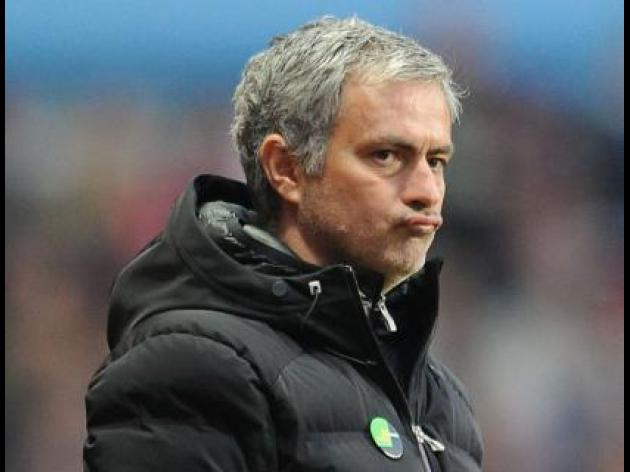 Mourinho fined over Villa conduct